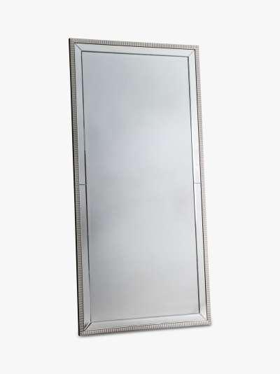 Palma Rectangular Leaner Mirror, 156 x 76cm, Clear
