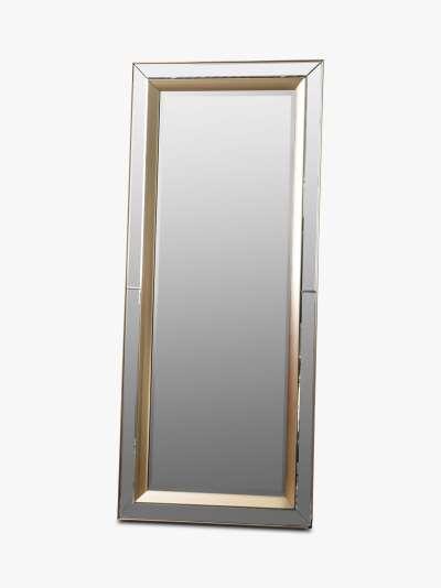 Phantom Rectangular Frame Leaner Mirror, 158 x 69cm, Gold
