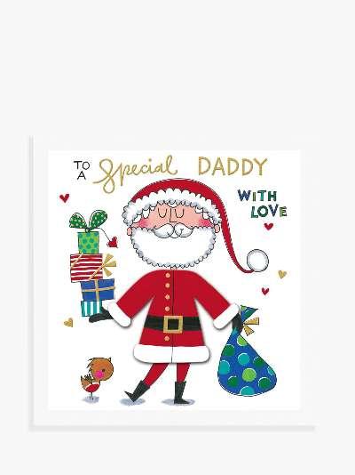 Rachel Ellen Santa Suit Christmas Card