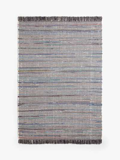 ANYDAY John Lewis & Partners Recycled Cotton Chindi Runner Rug, L240 x W70 cm, Multi
