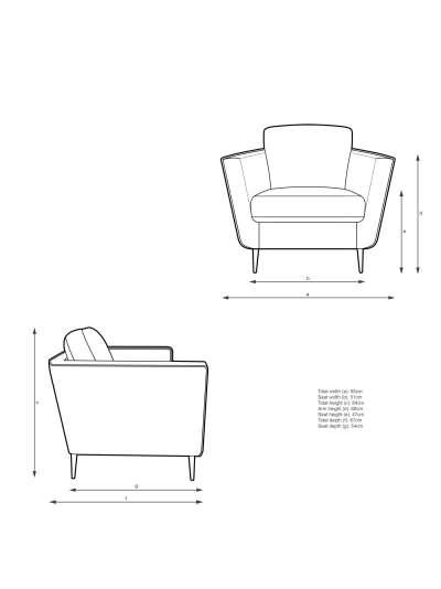 John Lewis & Partners Rise Armchair, Metal Leg