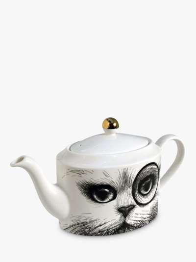 Rory Dobner Cat Monocole Teapot, 1L