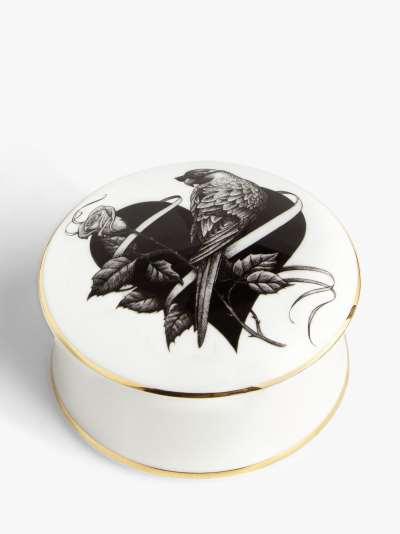 Rory Dobner Lovebird Trinket Box, Medium