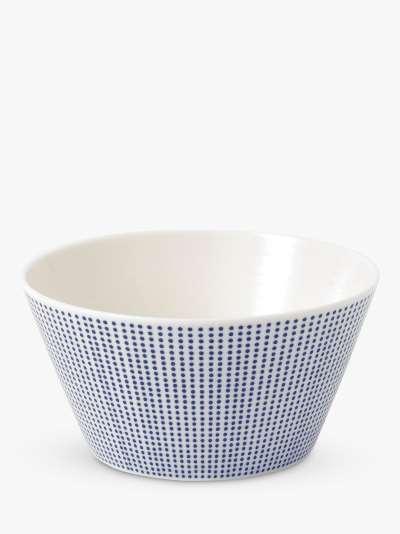 Royal Doulton Pacific Porcelain Cereal Bowl, 15cm, Blue/White