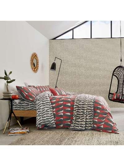 Scion Pedro Cotton Brushed Cotton Duvet Cover Set