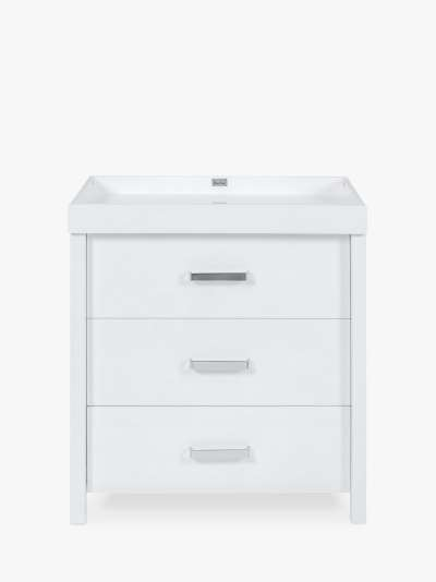 Silver Cross Primrose Hill 3 Drawer Dresser Changing Table, White