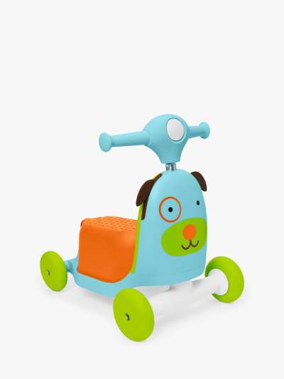 Skip Hop Zoo 3 in 1 Ride On Dog Toy