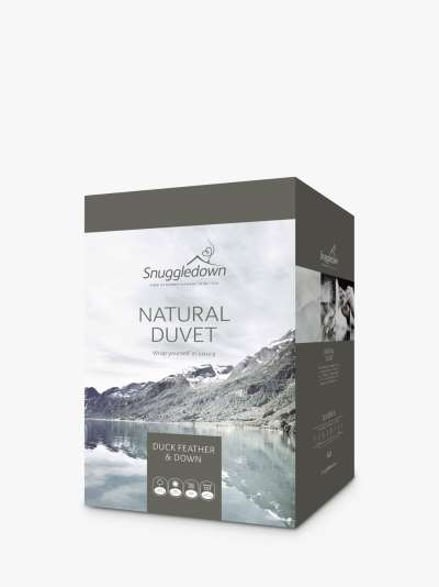 Snuggledown Natural Duck Feather and Down Duvet, 10.5 Tog