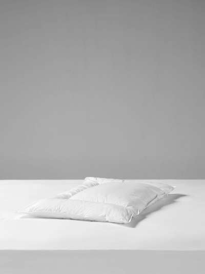 John Lewis & Partners Specialist Synthetic 3-Chamber Low Profile Standard Pillow, Soft