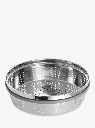 STAUB Cocotte Stainless Steel Steamer Insert, Dia.26cm, Silver