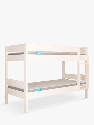 Stompa Compact Detachable Bunk Bed, Single, White