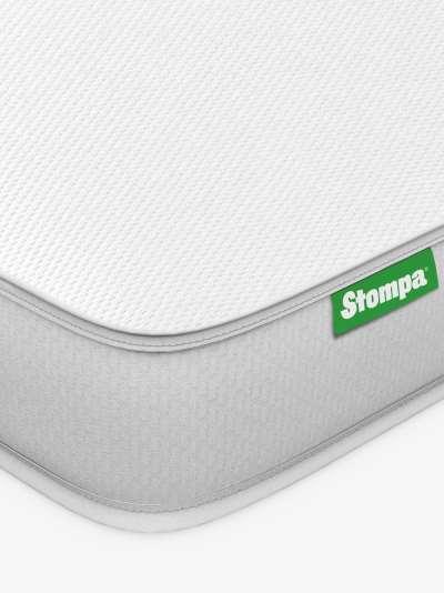 Stompa S Flex Eco Sprung Children's Mattress, Medium Tension, Extra Long Single