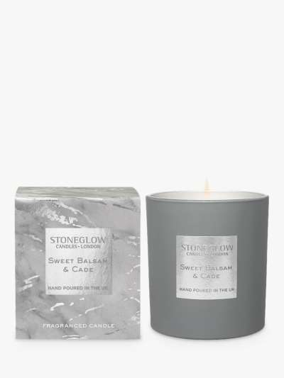 Stoneglow Luna Sweet Balsam & Cade Scented Candle, 220g