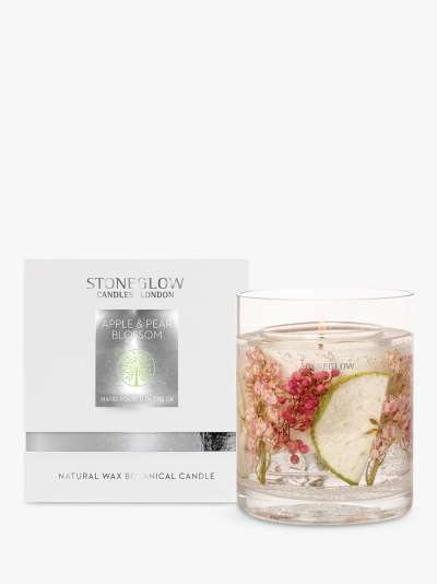 Stoneglow Natures Gift Red Roses Gel Scented Candle, 160g