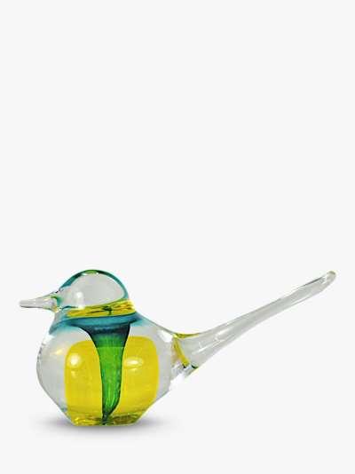 Svaja Basil Bird Ornament, Yellow