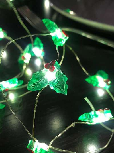 Talking Tables Holly String Lights