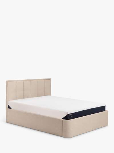 TEMPUR® Luxe Ottoman Storage Upholstered Bed Frame, Super King Size
