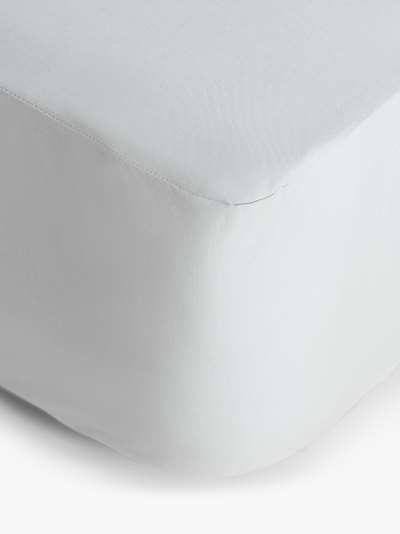 The Fine Bedding Company Night Owl Junior Waterproof Bed Sheet, Grey, Single