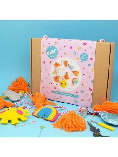 The Make Arcade Felt Weather Garland Craft Kit