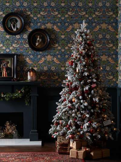 Tinker Tailor Union Jack Crown Tree Decoration