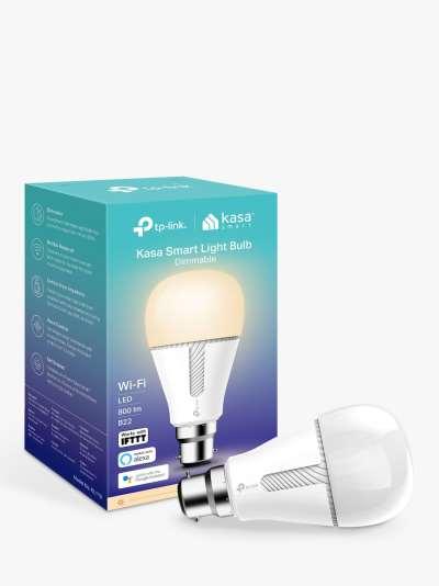 TP-Link KL110B Kasa Wi-Fi, B22, Smart LED Light Bulb with Dimmable Light