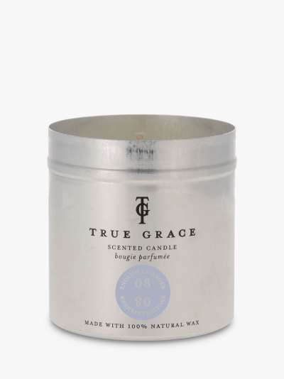 True Grace Lavender Scented Candle, 190g
