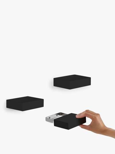 Umbra Showcase Floating Shelves, Set of 3