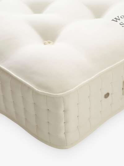 Vispring Wool Bedstead Supreme 1700 Pocket Spring Mattress, Medium Tension, Emperor