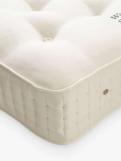 Vispring Wool Bedstead Supreme 1700 Pocket Spring Mattress, Medium Tension, Large Emperor