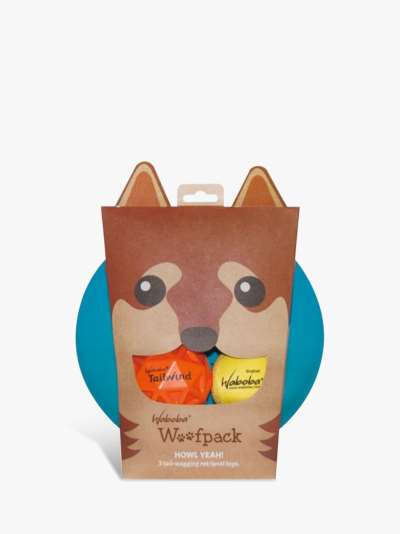 Waboba Woof Pack Dog Toy Set
