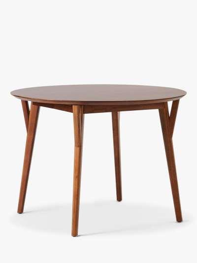 west elm Mid-Century 4-6 Seater Extending Dining Table, Acorn, FSC Certified (Eucalyptus, Walnut)