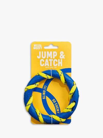 Wild & Woofy Jump & Catch Dog Toy