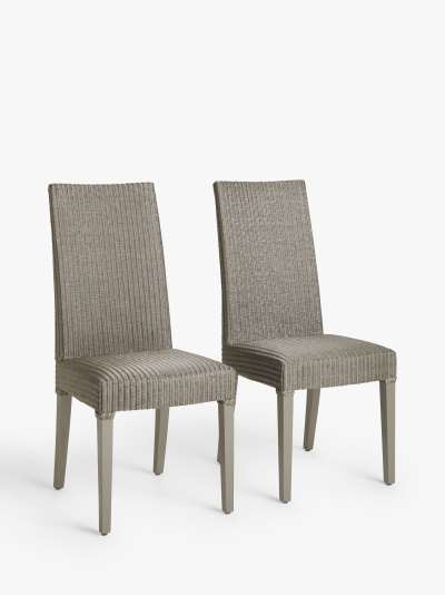 John Lewis & Partners Woven Dining Chairs, Set of 2