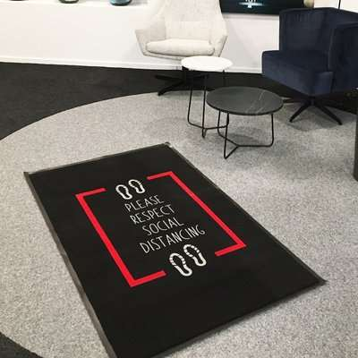 Social Distancing Office Mats - 90 X 150CM