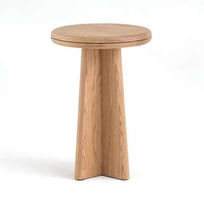 Échos Round Side Table, by E. Gallina.
