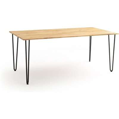 Adza Solid Oak Dining Table (Seats 8)