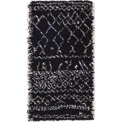 Afaw Berber-Style Bedside Rug