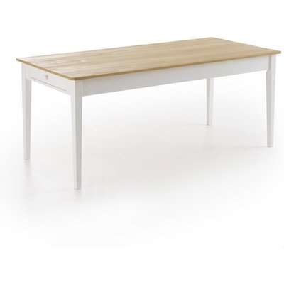 Alvina Solid Pine Dining Table (Seats 6-8)