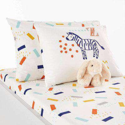 Animalia Baby's Organic Cotton Pillowcase