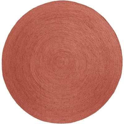 Bissaka Round Jute Rug (250cm diameter)
