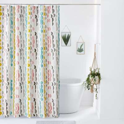 Bliss Fantasy Print Shower Curtain