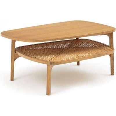 Buisseau Oak & Cane Coffee Table