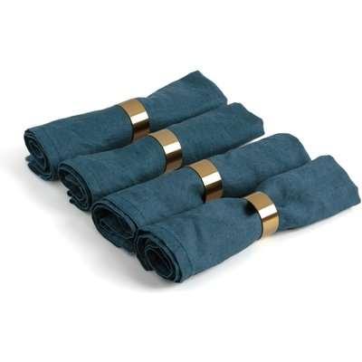 Dajan Golden Napkin Rings (Set of 4)