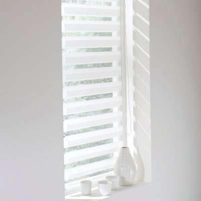 Day/Night Light-Filtering Roller Blind (Wide Windows)