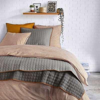 Duo Cotton Percale Duvet Cover