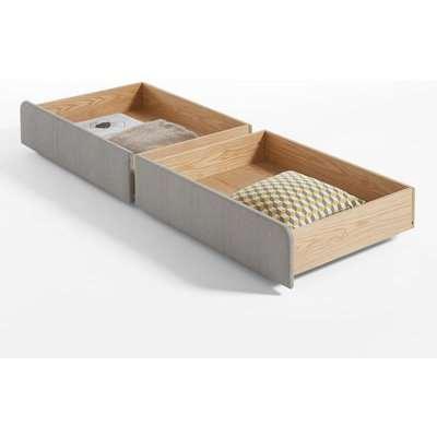 Set of 2 Elori Under Bed Storage Drawers