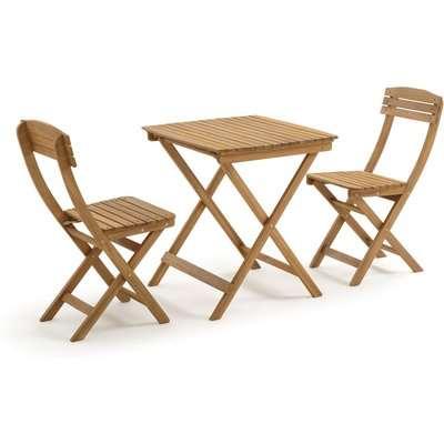 Garden 3-Piece Foldable Dining Set