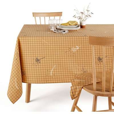 Graminée Washed Cotton Patterned Tablecloth