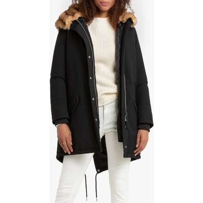 Heat 2W Parka with Faux Fur Hood and Pockets