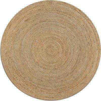 Hempy Round Jute Rug, Diameter 250cm